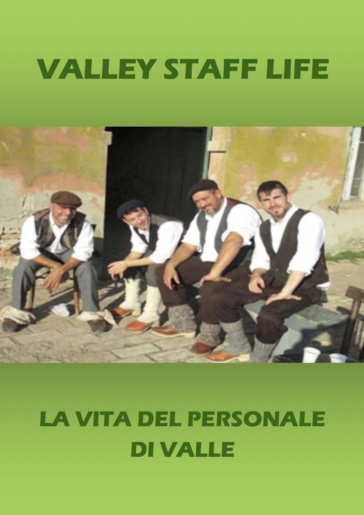 la vita del personale di valle – copertina